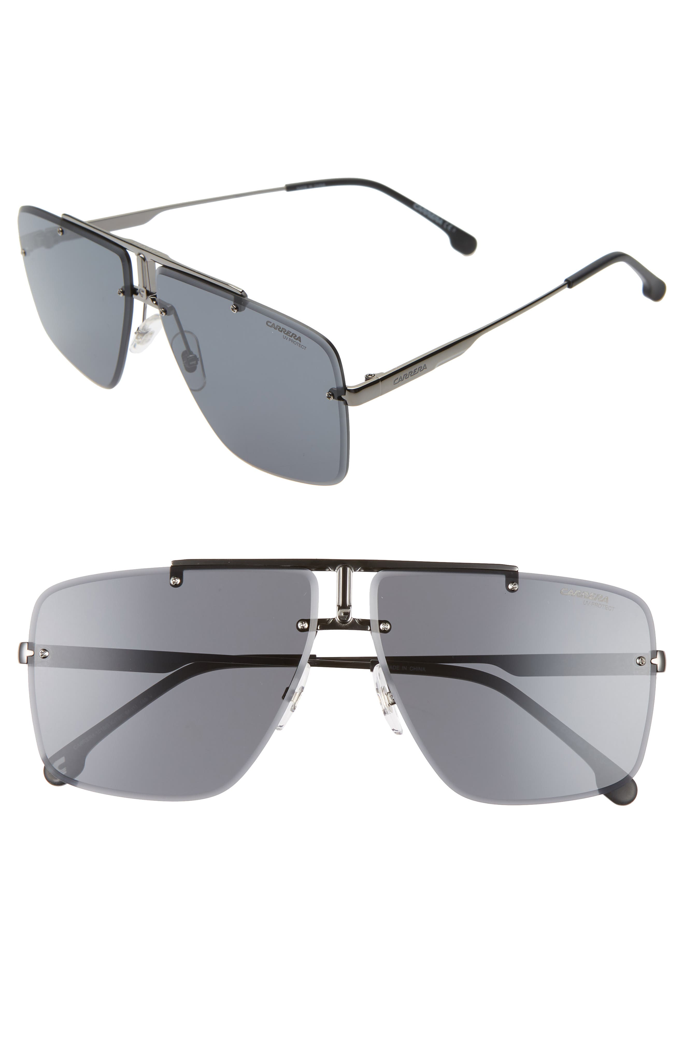 Carrera Eyewear Navigator Sunglasses - Dark Ruthenium