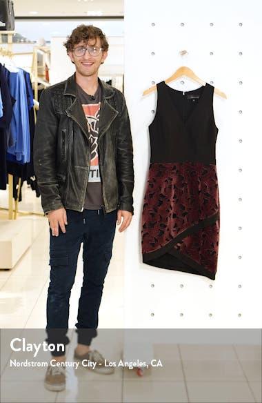 Skyla Mixed Media Dress, sales video thumbnail