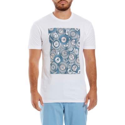 Ben Sherman Halftones Graphic T-Shirt, Blue