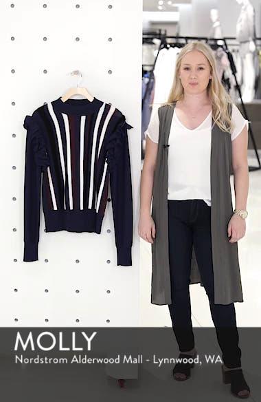 Detachable Sleeve Sweater, sales video thumbnail