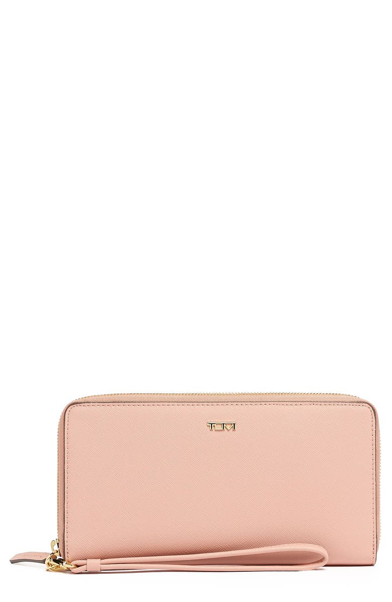 TUMI Belden Leather Travel Wallet, Main, color, 650