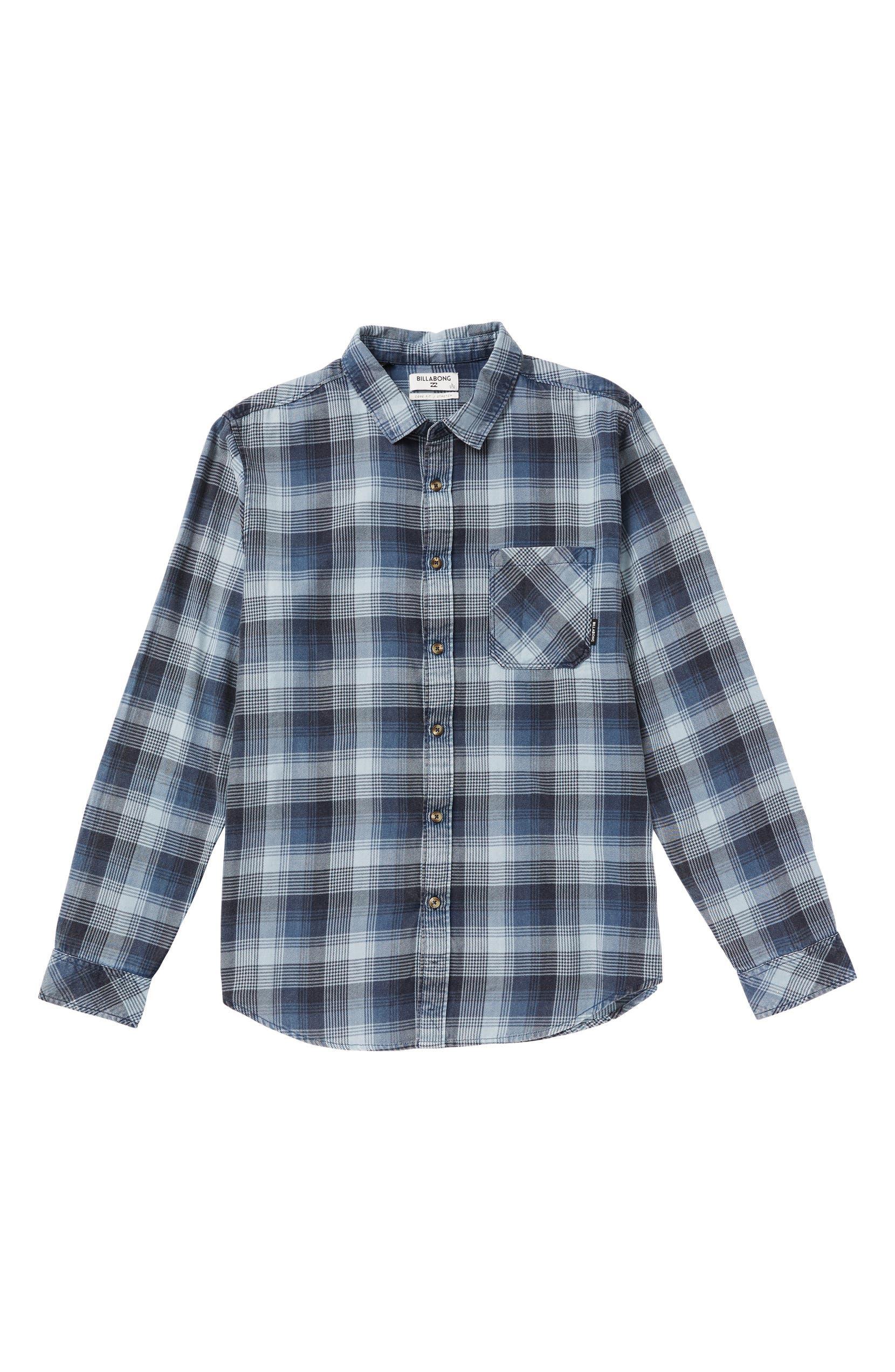dc538f501 Billabong Freemont Flannel Shirt (Toddler Boys, Little Boys & Big Boys) |  Nordstrom