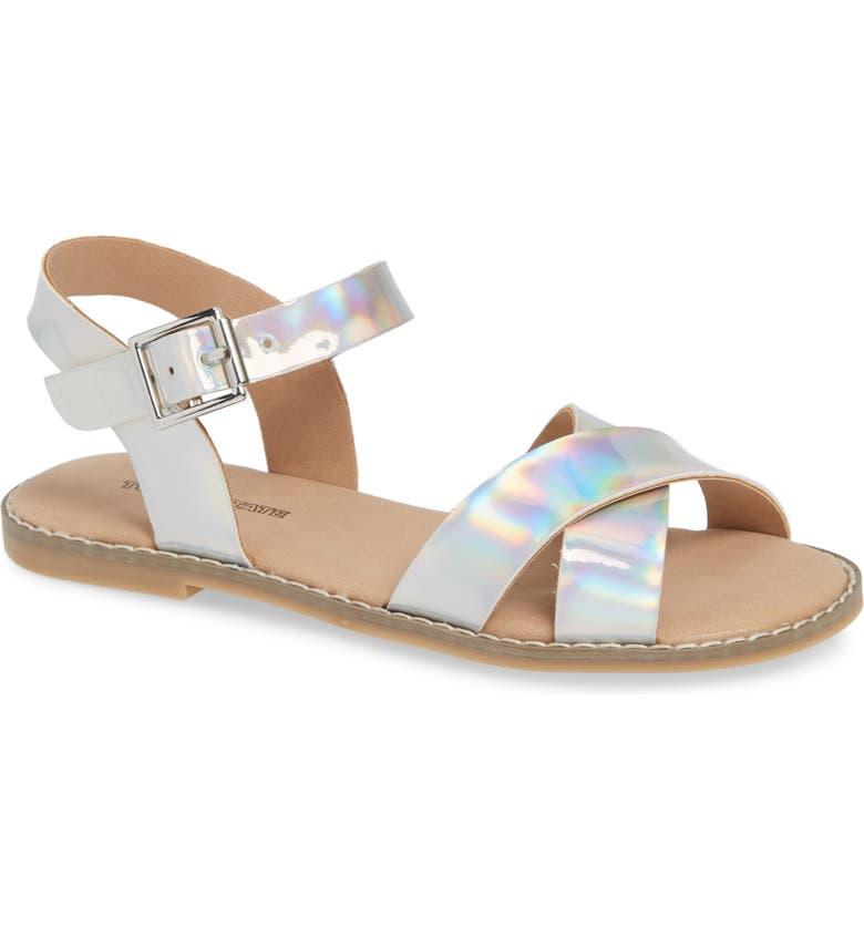 TUCKER + TATE Arya Cross Strap Sandal, Main, color, 040