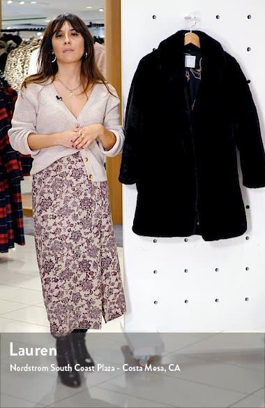 Fany Faux Fur Coat, sales video thumbnail