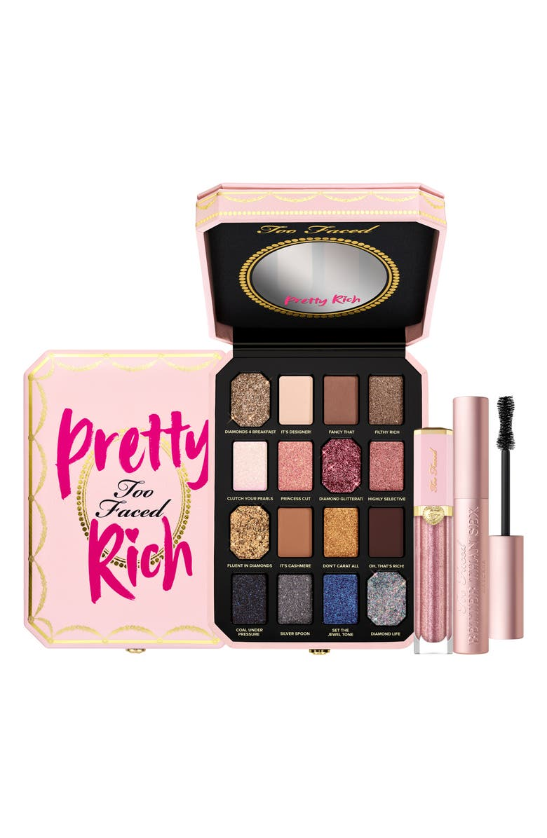 TOO FACED Pretty Rich Luxury Makeup Set, Main, color, NO COLOR