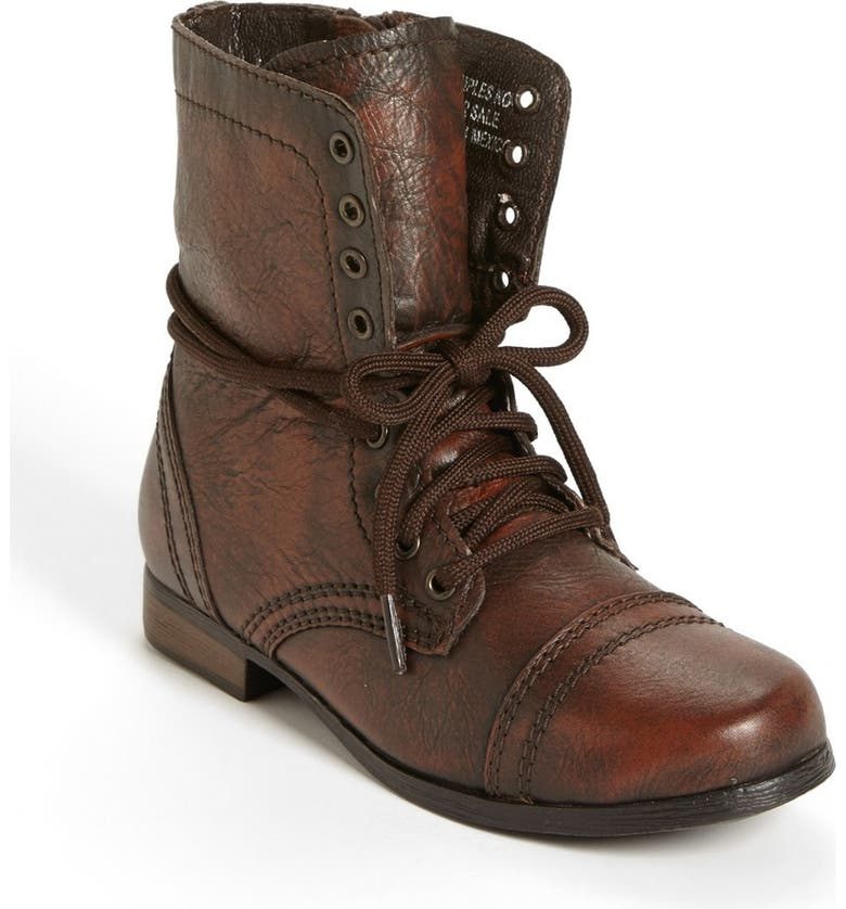 STEVE MADDEN 'Troopa' Boot, Main, color, BROWN
