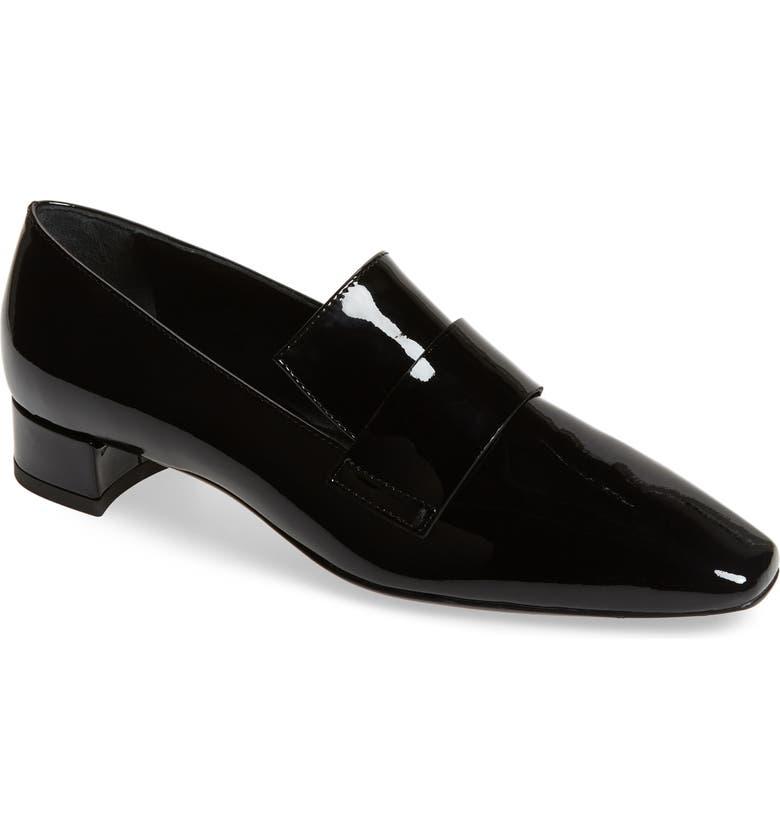 AGL Moc Loafer, Main, color, BLACK PATENT