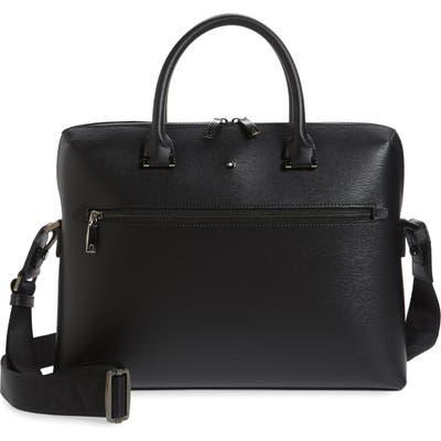 Montblanc Westside Slim Leather Document Case - Black