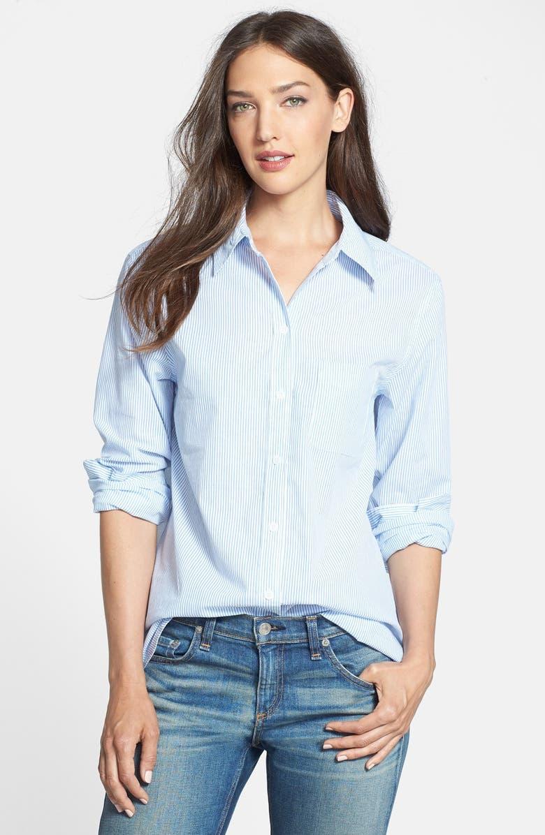 EQUIPMENT 'Margaux' Pinstripe Cotton Shirt, Main, color, 471