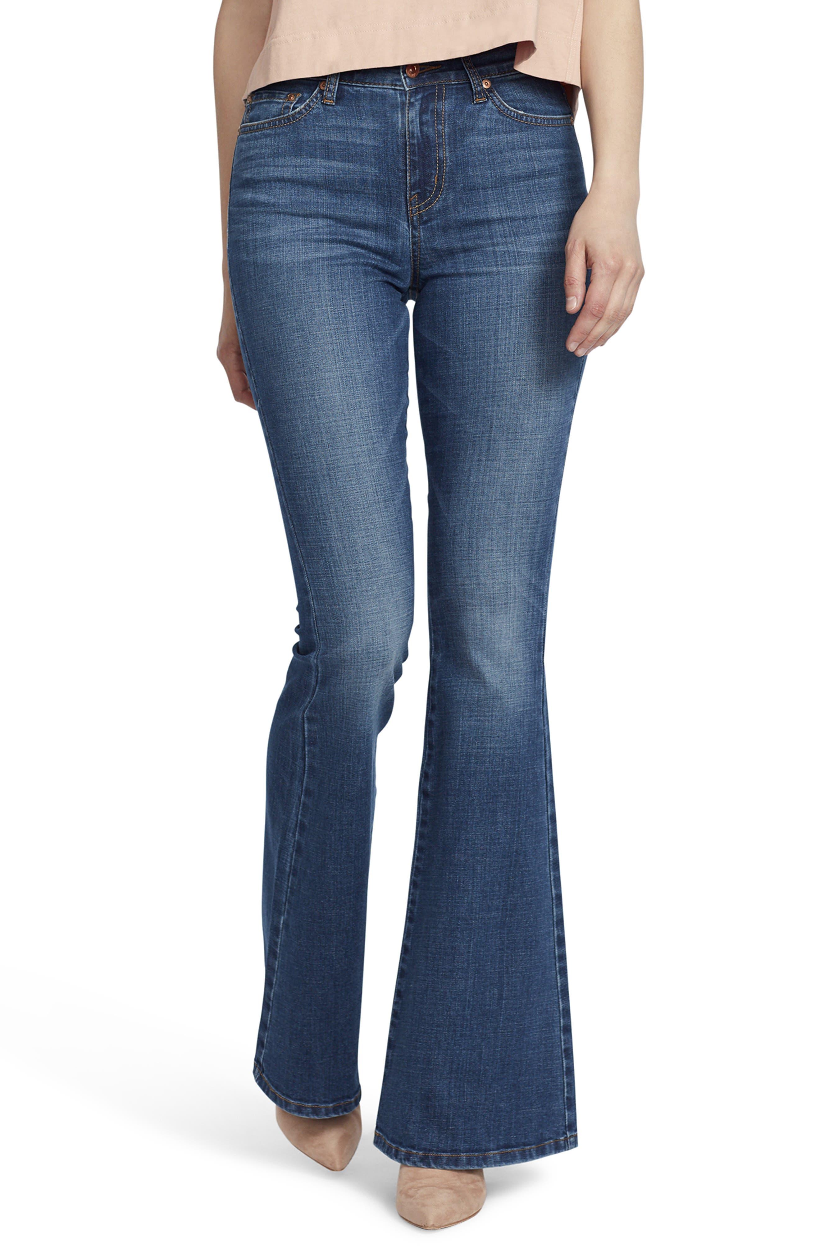 Ella Moss High Waist Flare Jeans (Naomi)