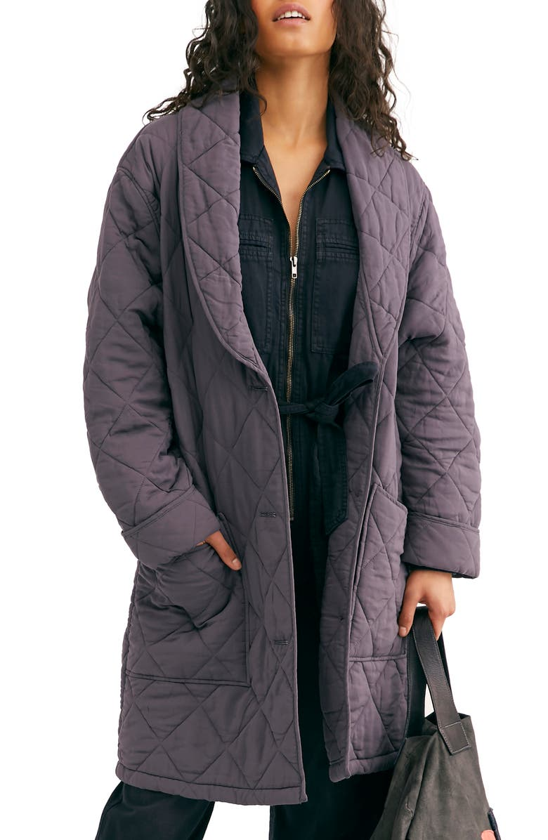 FREE PEOPLE Happy Day Dreamer Quilted Jacket, Main, color, 401