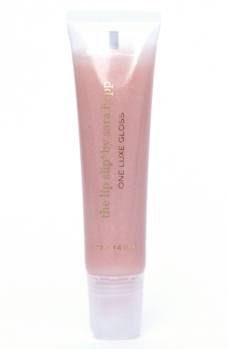 SARA HAPP<SUP>®</SUP> The Lip Slip<sup>®</sup> One Luxe Clear Shine Lip Gloss, Main, color, NO COLOR