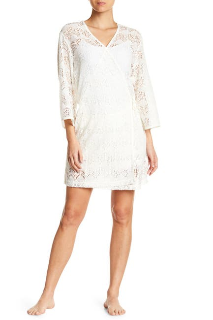 Image of UGG Lizabeth Lace Wrap Nightgown