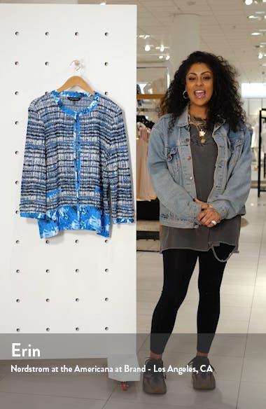 Pattern Mix Collarless Jacket, sales video thumbnail