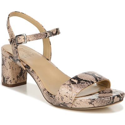 Naturalizer Ivy Ankle Strap Sandal W - Beige