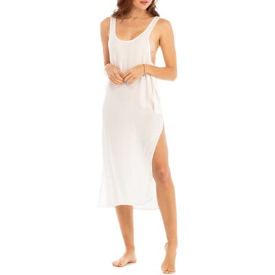 Tavik Billy Cover-Up Tank Dress, White