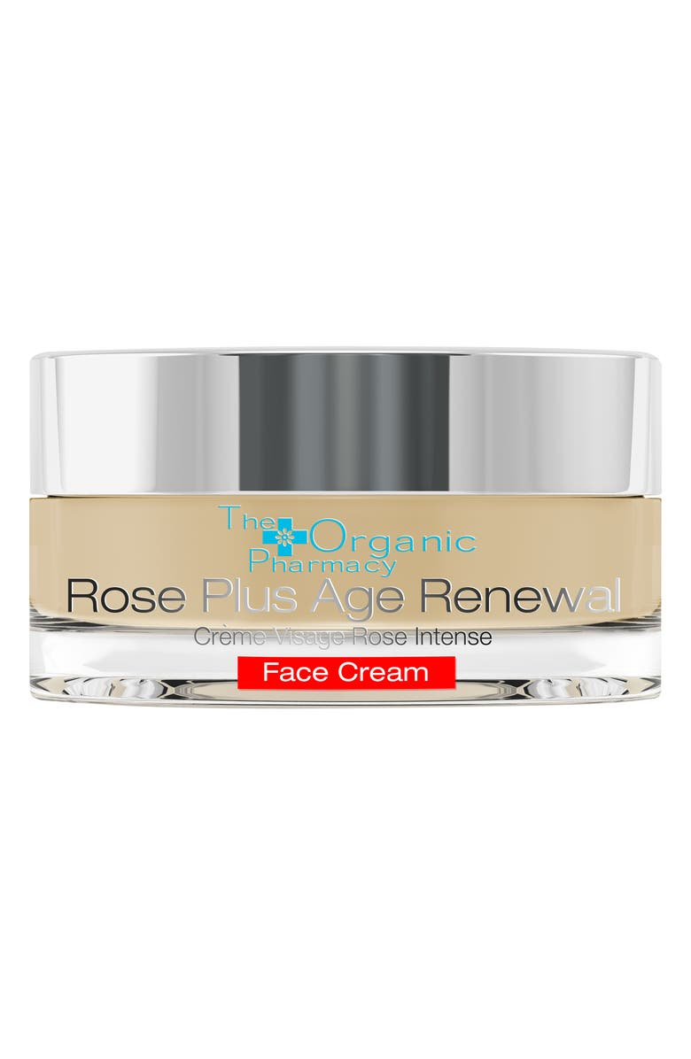 THE ORGANIC PHARMACY Rose Plus Age Renewal Face Cream, Main, color, NO COLOR