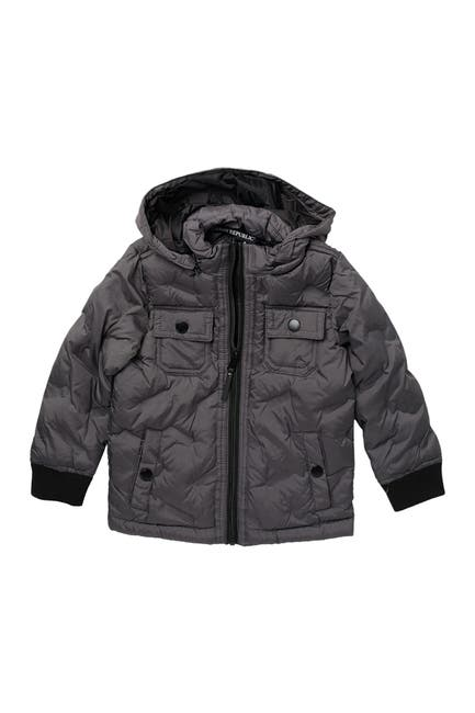 Image of Urban Republic Heat Seal Front Zip Quilted Jacket