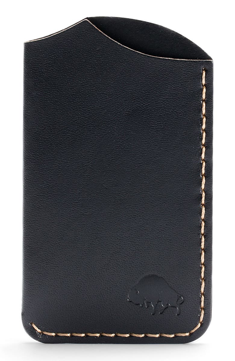 EZRA ARTHUR No. 1 Leather Card Case, Main, color, 005