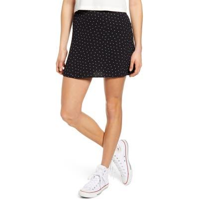 Bp. Print Mini Skater Skirt