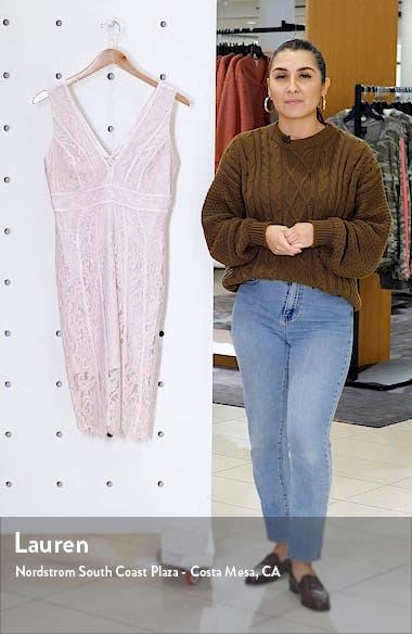 Lisa Lace Sheath Dress, sales video thumbnail