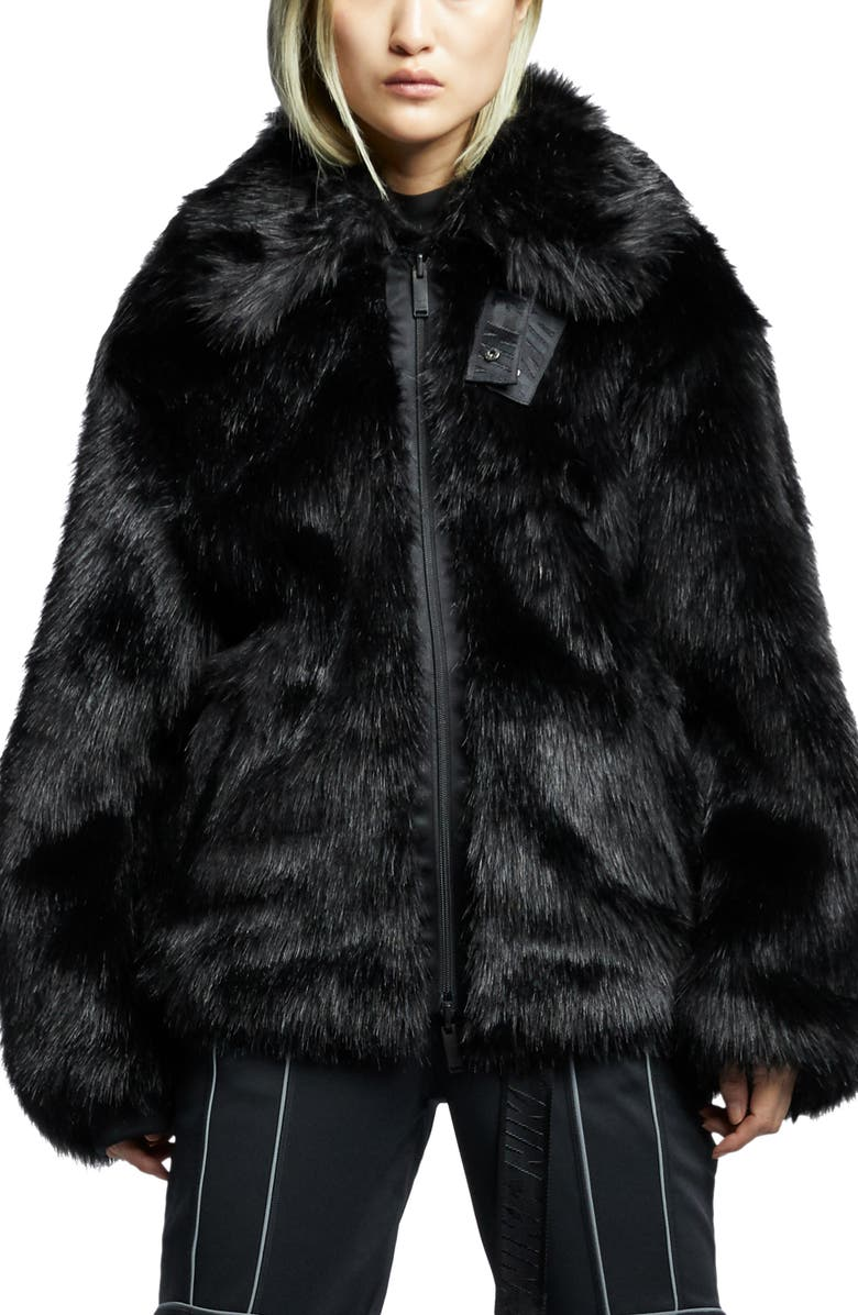 3ce6552ad0e6 x Ambush Women's Reversible Faux Fur Coat, Main, color, ...