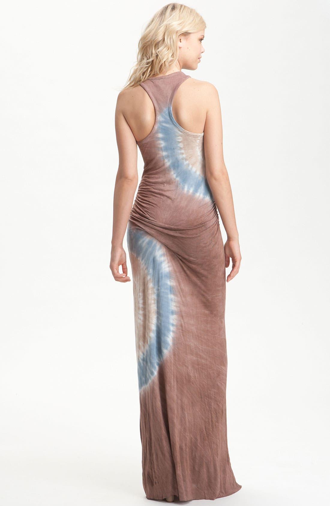 ,                             'Hamptons' Tie Dye Maxi Dress,                             Alternate thumbnail 4, color,                             200