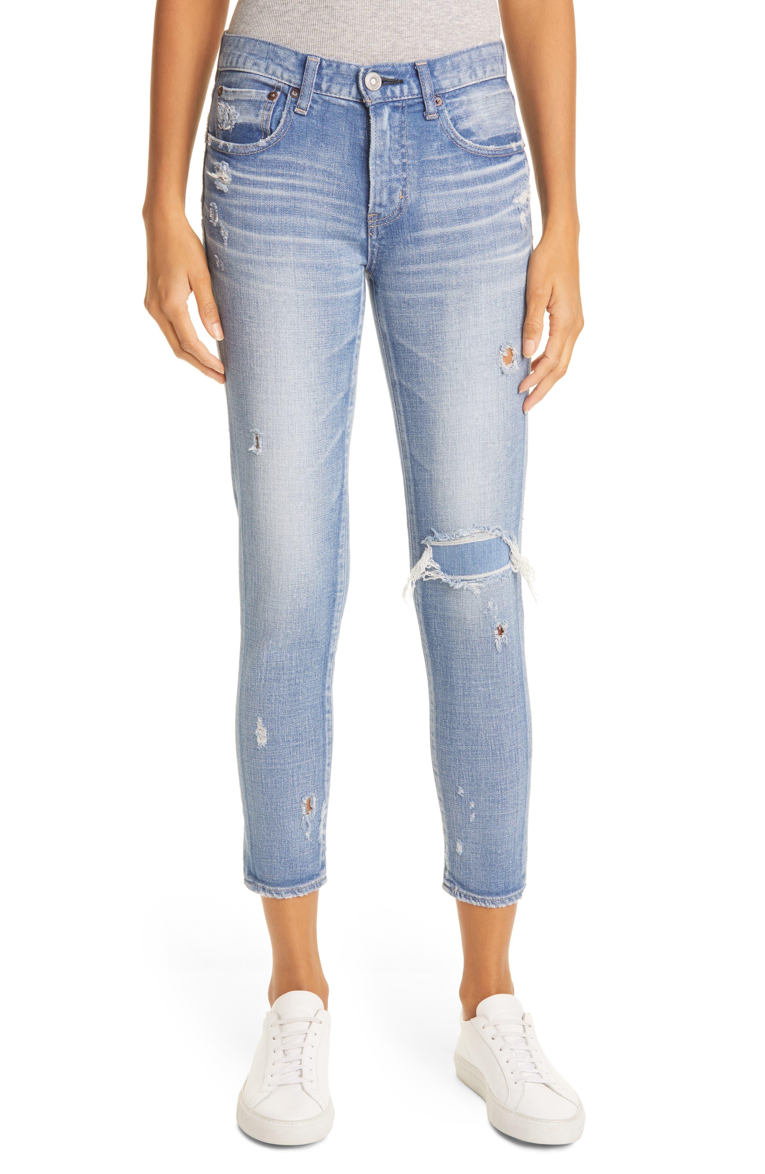 Lenwood Ankle Skinny Jeans