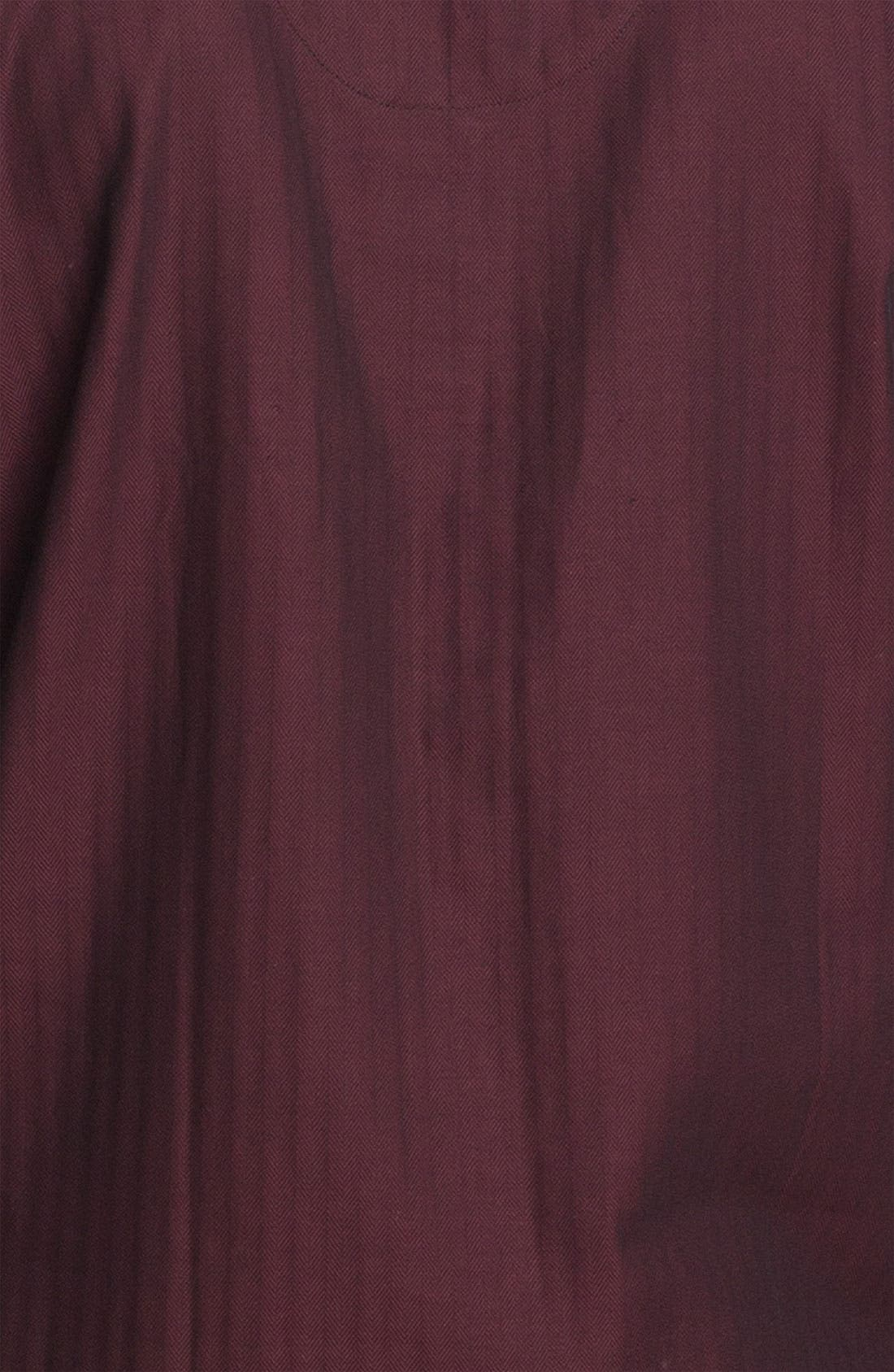 ,                             Herringbone Cotton Pajamas,                             Alternate thumbnail 18, color,                             605