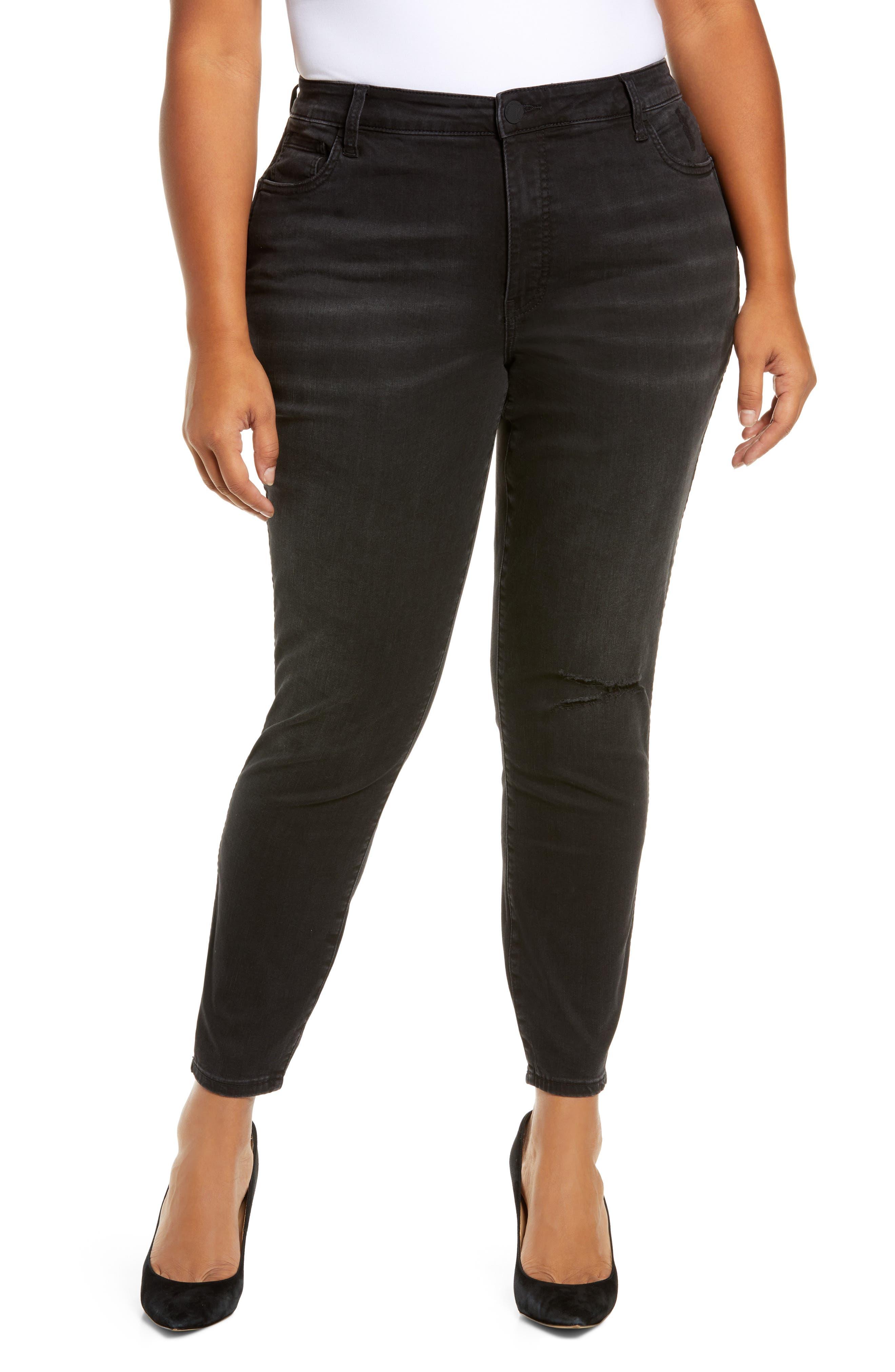 Donna Fab Ab High Waist Ankle Skinny Jeans