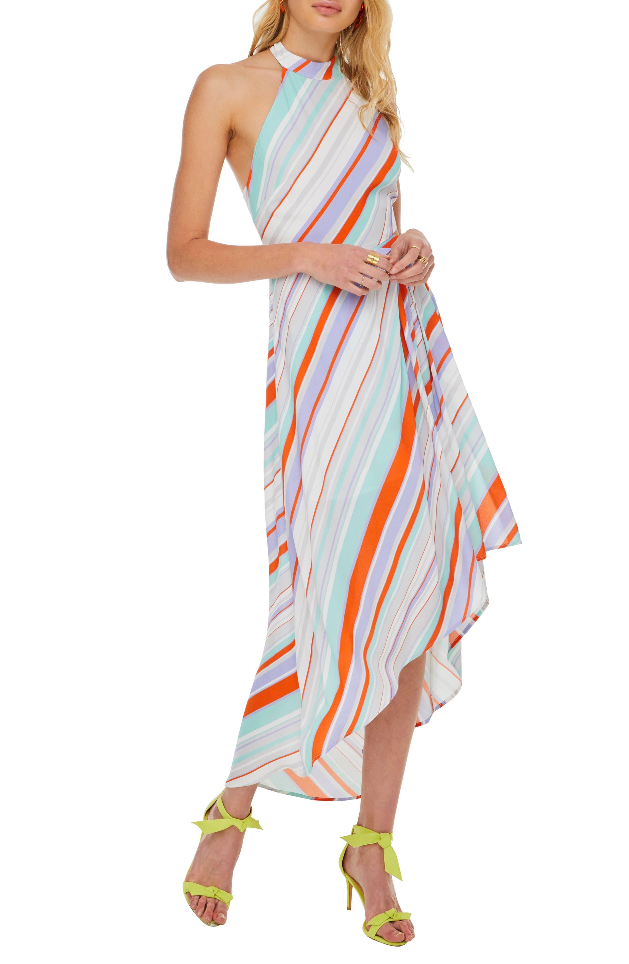 Illusion Maxi Dress, Main, color, 800