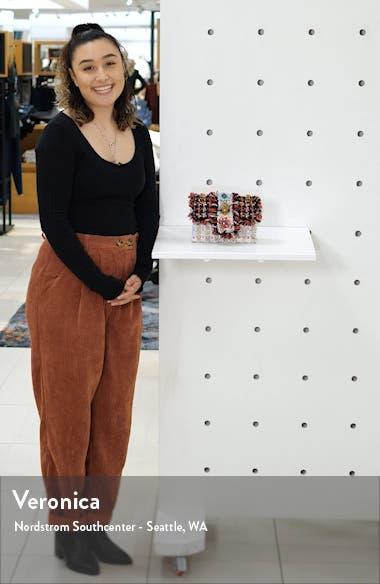 Mini Kensington X Embellished Tweed Crossbody Bag, sales video thumbnail