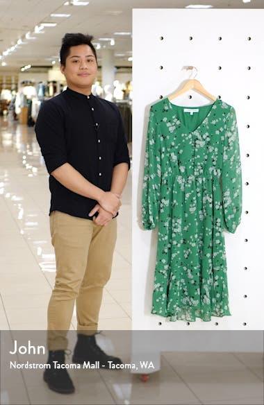Rosalia Floral Print Long Sleeve Dress, sales video thumbnail