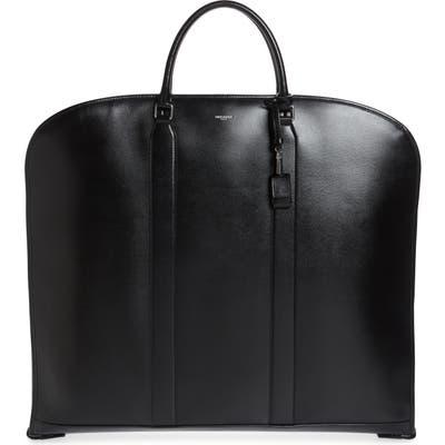 Saint Laurent Slim Leather Suit Bag - Black