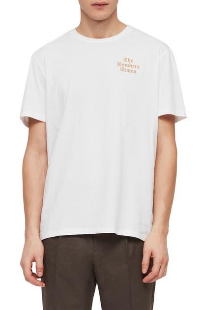 Allsaints T-shirts Nowhere Slim Fit Crewneck T-Shirt