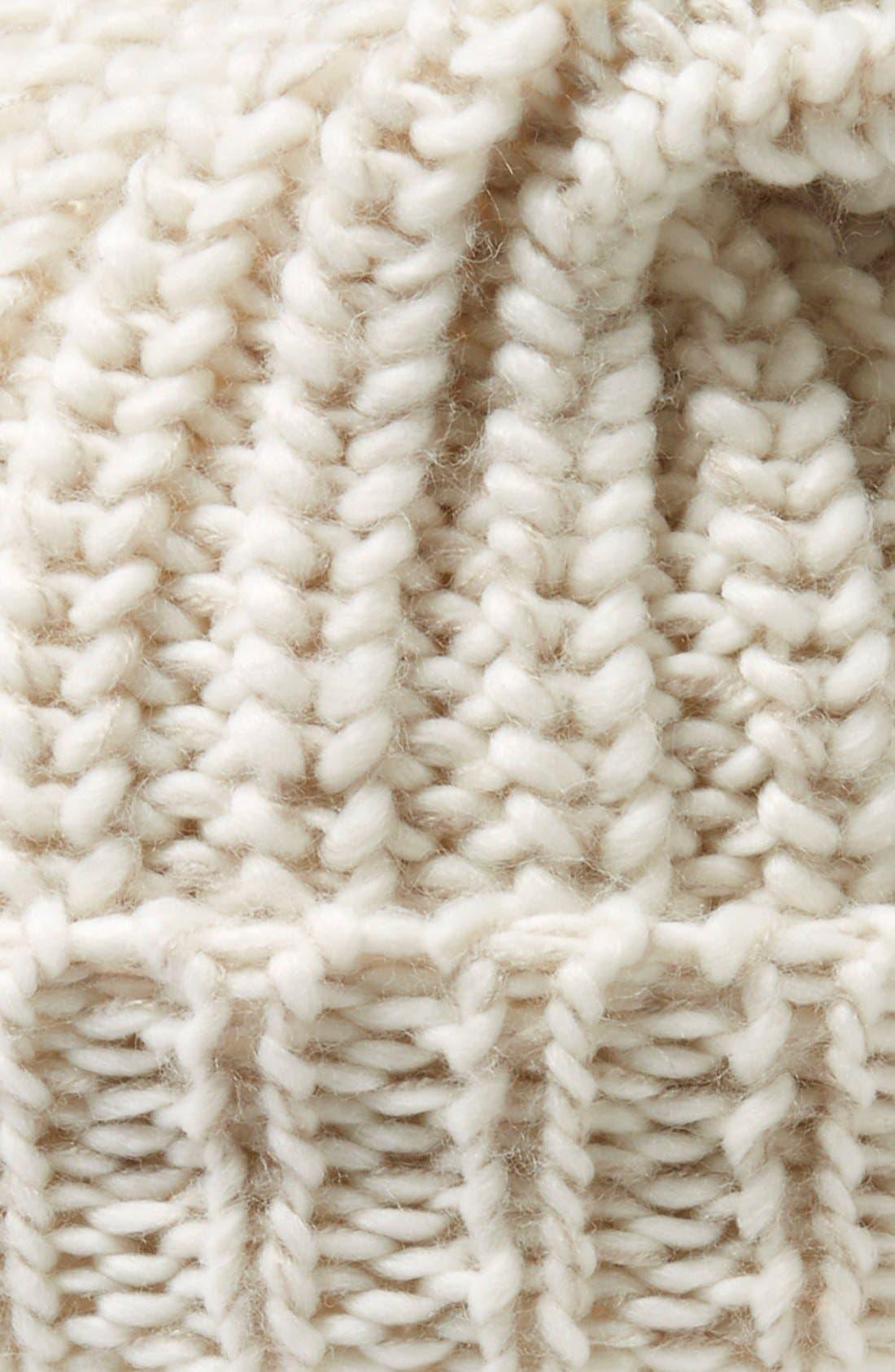 ,                             Chunky Rib Knit Beanie,                             Alternate thumbnail 17, color,                             900