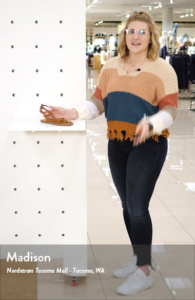The Boardwalk Skinny Strap Sandal, sales video thumbnail