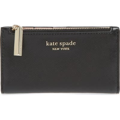 Kate Spade New York Small Spencer Saffiano Leather Bifold Wallet -