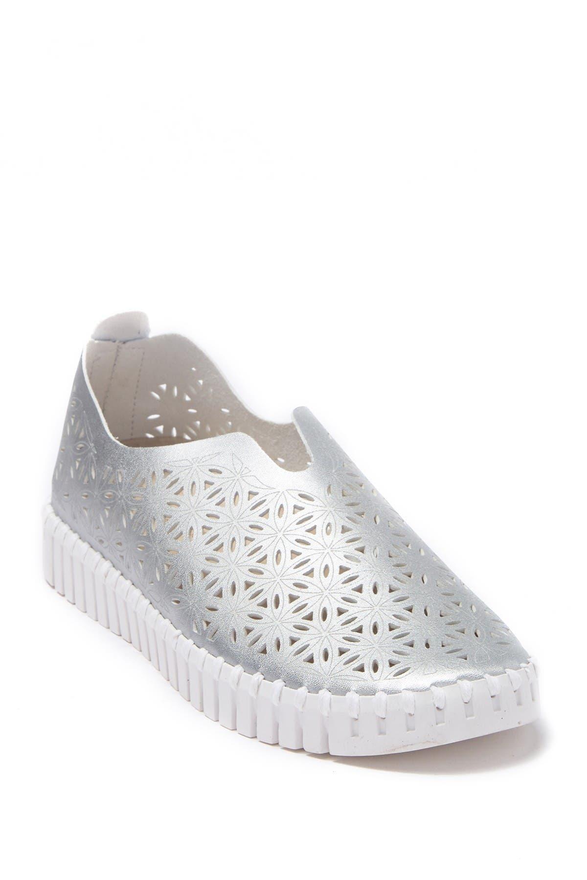 Tulip Perforated Slip-On Sneaker