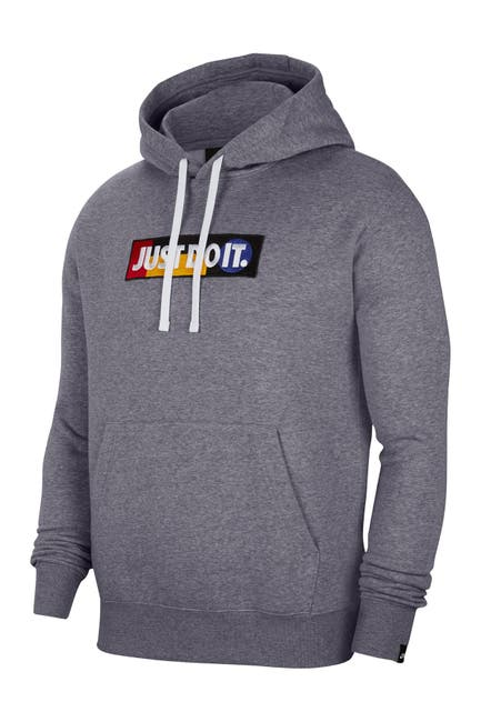 Image of Nike Just Do It Logo Knit Hoodie