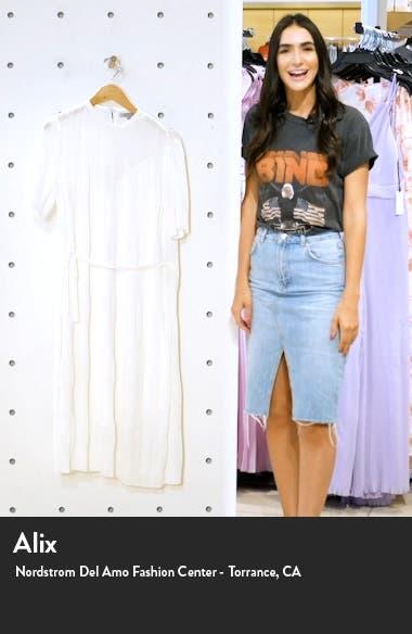 Kano Short Sleeve A-Line Dress, sales video thumbnail