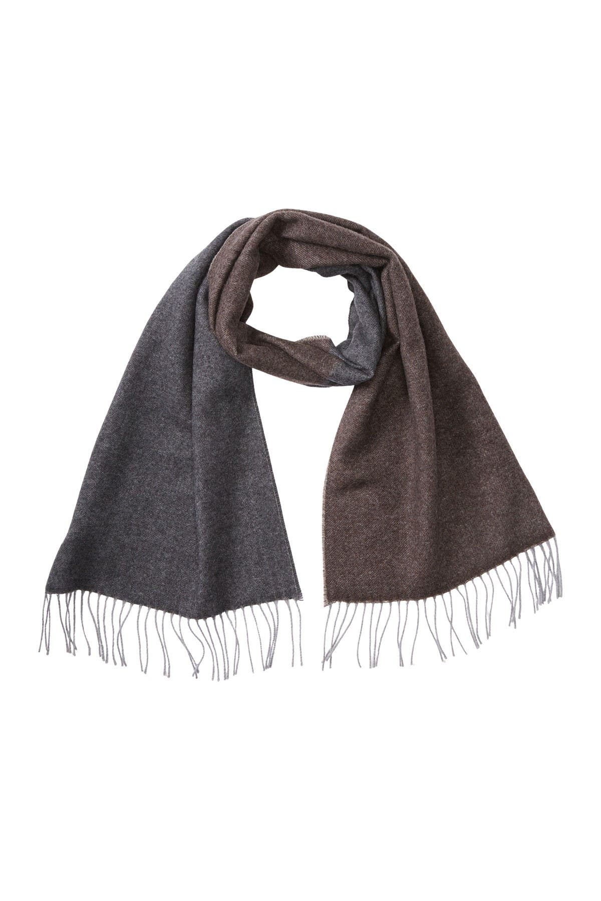 Image of Chelsey Imports Heather Striped Cashmere Scarf