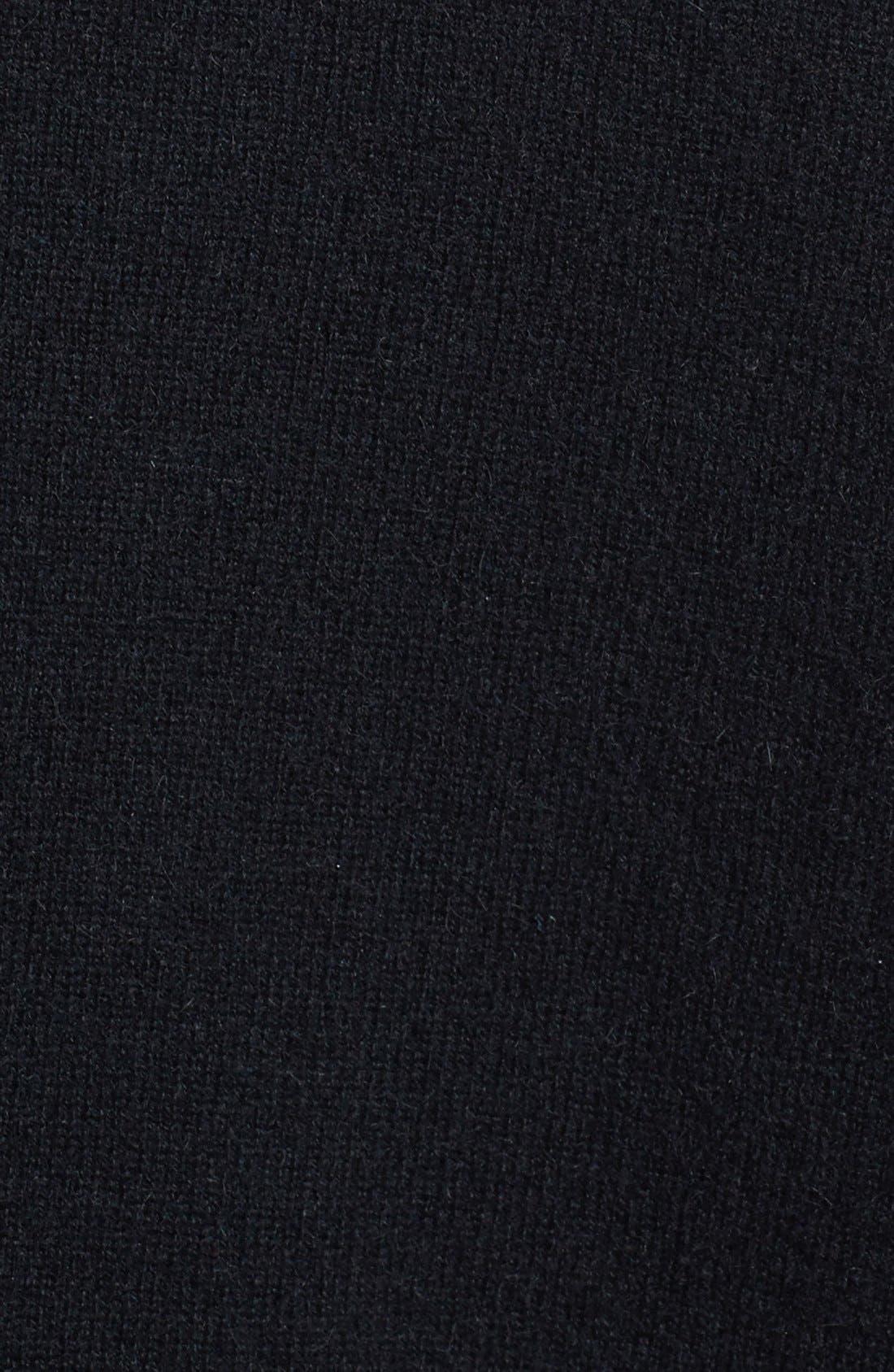 ,                             Cashmere V-Neck Sweater,                             Alternate thumbnail 2, color,                             001