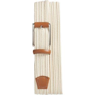 Torino Woven Belt, Cream