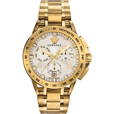 Versace Sport Tech Chronograph Bracelet Watch, 45Mm