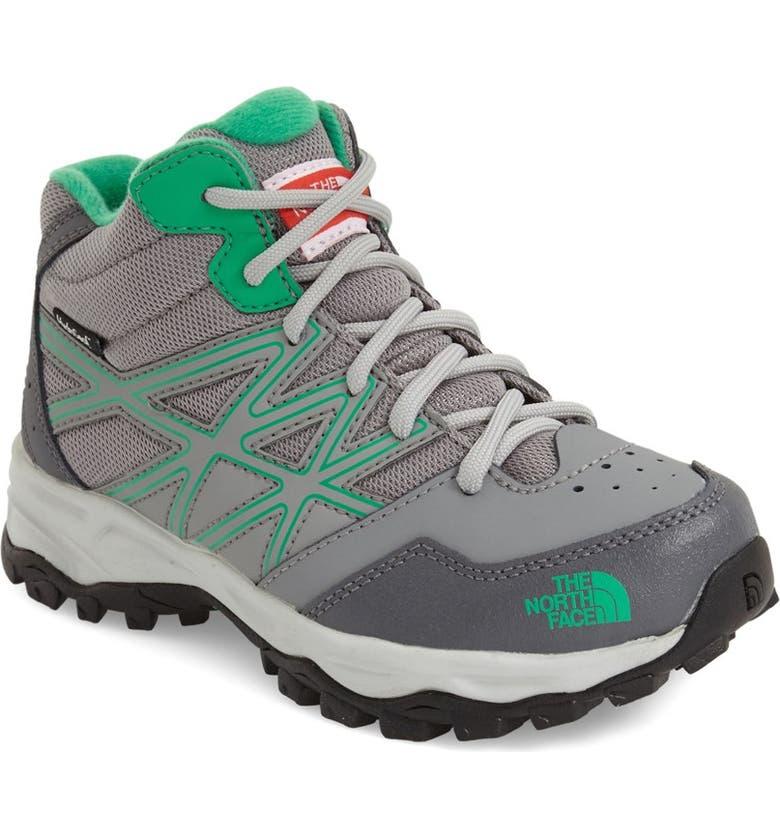 9608a1cdb The North Face 'Jr. Hedgehog - Mid' Waterproof Hiking Shoe (Little ...