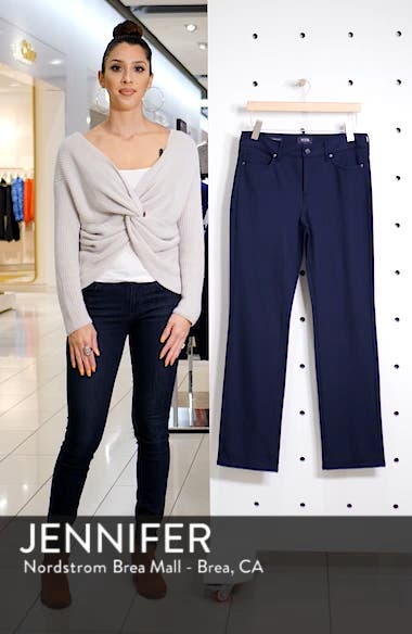 Marilyn Straight Leg Ponte Pants, sales video thumbnail