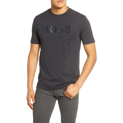 Boss Tiburt 148 Logo T-Shirt, Blue