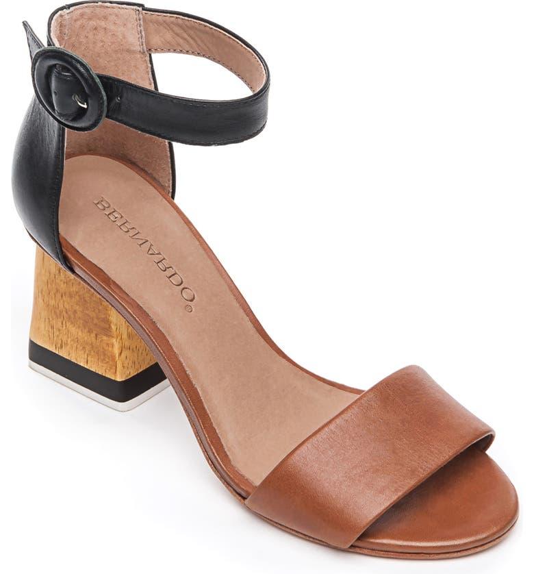 BERNARDO Nova Ankle Strap Sandal, Main, color, 001