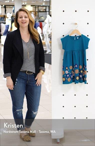 Floral Print Empire Dress, sales video thumbnail